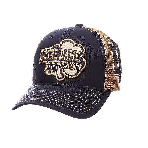 ZHATS NCAA Notre Dame Fighting Irish Men s Interstate Trucker Cap 172daff6a177