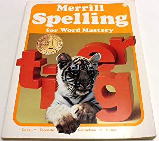 Merrill Spelling for Word Mastery
