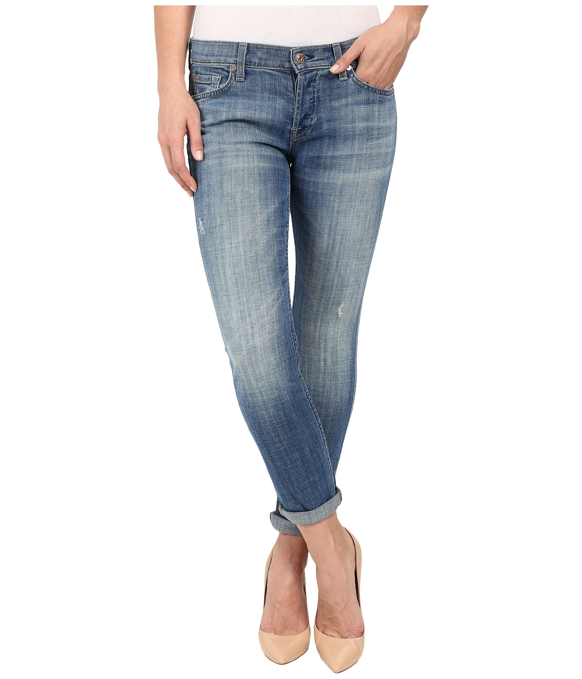 Edie with Wave Hem. - size 27 (also in 24,25,26,28,29,30) 7 For All Mankind