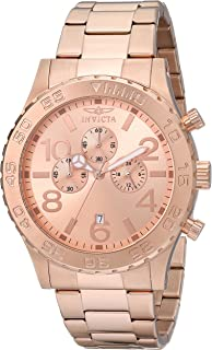 Men's 1271 Specialty Chronograph Rose Dial 18k Rose Gold Ion-Plated Watch