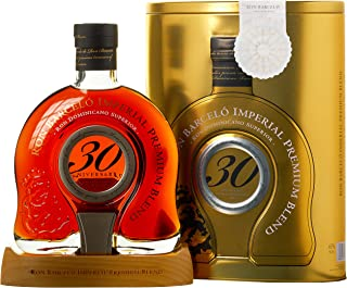 Barcelo Ron Imperial 30 Aniversario Premium Blend Rum, 1er Pack 1 x 700 ml