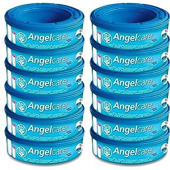 ANGELCARE 12 nachfüllkassetten adapté pour Couche Seau Comfort Et Deluxe Top