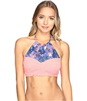 Roxy - Smocky Girl Crop Bikini Top
