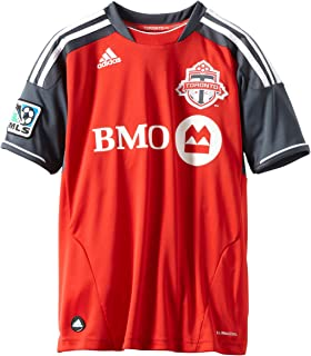 adidas Toronto FC Youth Red Soccer Home Replica Jersey