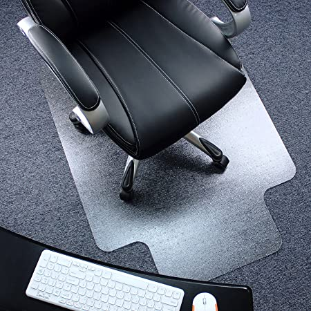 Hardwood Floors Tempered Vinyl Plastic Floor Desk Rug Protector for Carpets Rolling Chairs,36/'/'x48 Maylai Thickened Floor Mats 2mm High-Transparent Silicone Office Chair Mat