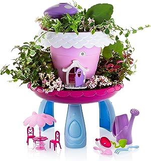 Advanced Play Fairy Garden Kit Kids Gardening Set Indoor Outdoor Play Activity Gardening Tool Set Toys Kids Toddlers Girls...