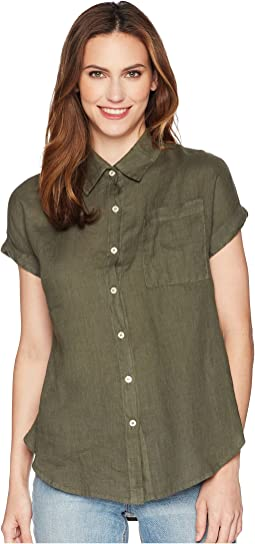 Allen Allen Short Sleeve Camp Shirt