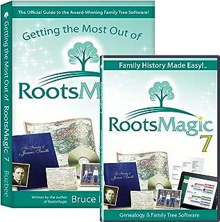 RootsMagic 7 Family Tree Genealogy Software / Book Bundle
