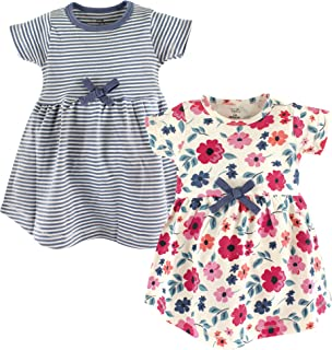 Girls' Organic Cotton Short-Sleeve Dresses