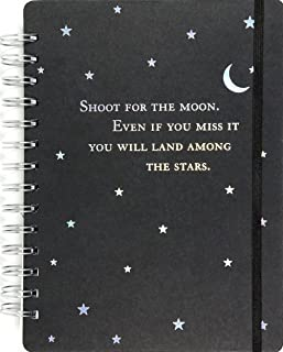 Shoot for the Moon Journal (Notebook, Diary)