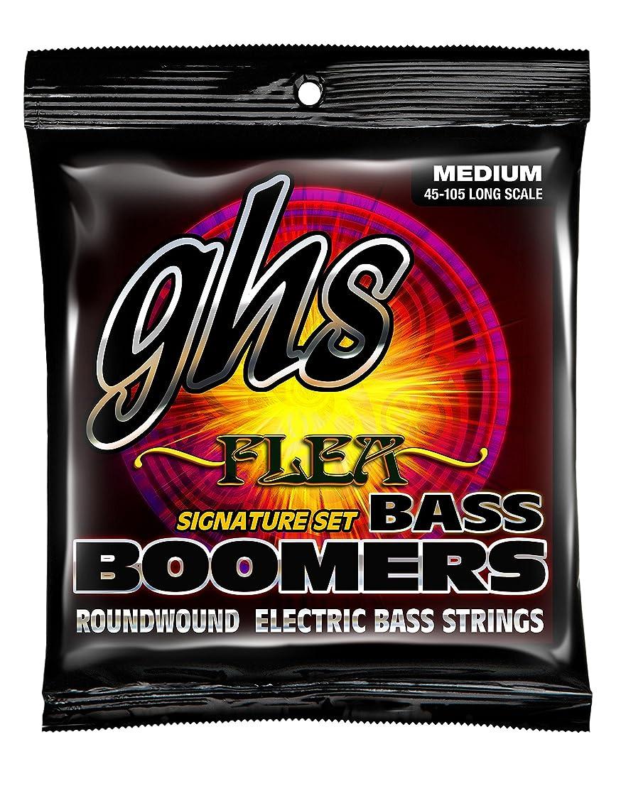 浅いシンク蜜ghs エレキベース弦 BASS BOOMERS/ベースブーマーズ FLEA (レッチリ) シグネチャー 45-105 M3045F
