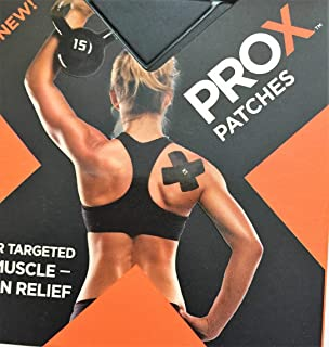 Best KT Tape PRO X Kinesiology Therapeutic Tape, Targeted Pain Relief Patches, 15 Pack, Jet Black Review