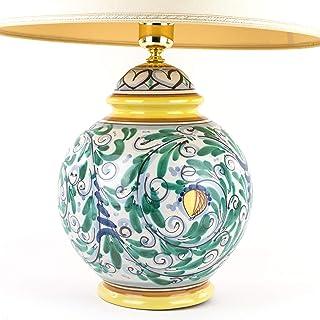 Amazon It Ceramiche Artistiche Lampade Da Tavolo E Abat Jour Lampade Illuminazione