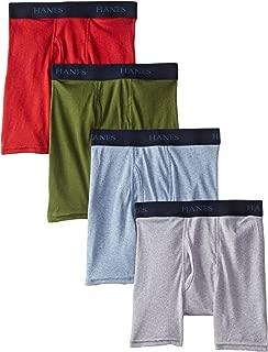 Hanes Boys' Ultimate Comfort Flex Fashion Dyed Boxer Brief