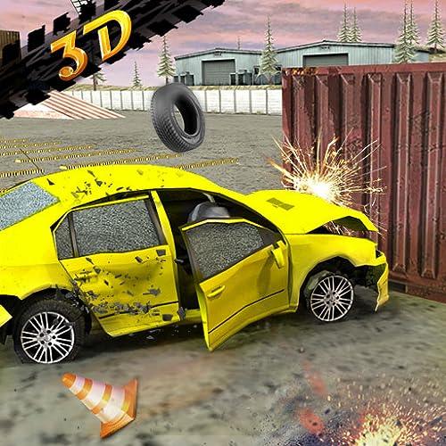 Beam Car Crash Engine Simulator - Car Crashing 3D