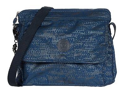 Kipling Aisling Crossbody Bag (Blue Eclipse Print) Handbags