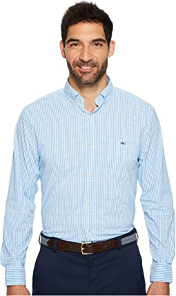 Vineyard Vines - Seawater Gingham Classic Tucker Shirt