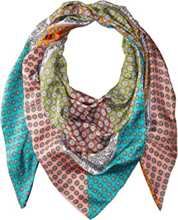 Echo Design - Harbour Foulard Silk Square Scarf