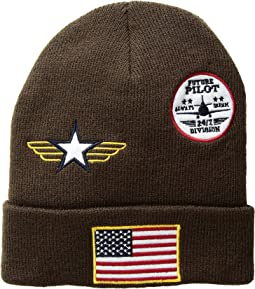 Pilot Patch Beanie (Toddler/Little Kids)