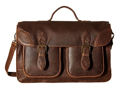 Scully Squadron School Bag (Antique Brown) Bags