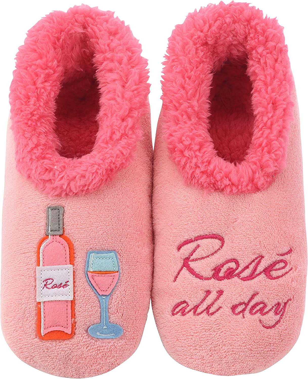 Snoozies Slippers for Women - Pairables Womens Slippers - Rose All Day