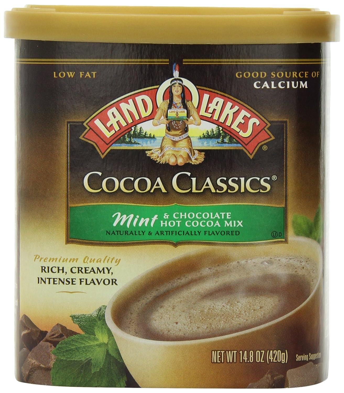 Sales results No. 1 Land O Lakes shipfree Cocoa Classics Hot 14.8oz Mix Mint