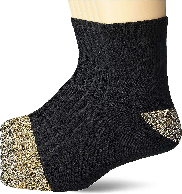 Carhartt Men's Steel Toe Full Cushion Quarter Socks