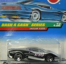 Hot Wheels Jaguar Xj220 #721 1998 Dash 4 Cash Series #1 with Saw Blades