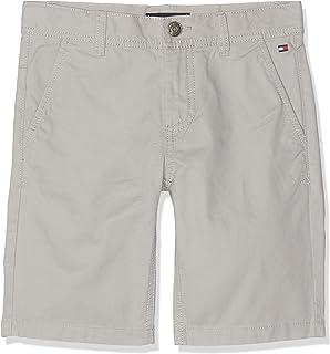 Tommy Hilfiger Essential Twill New Chino Short Pantalones Cortos para Ni/ños
