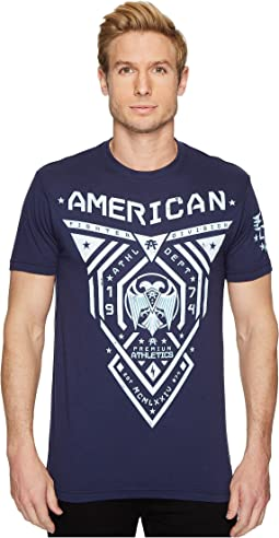 American Fighter - Blue Mountain Short Sleeve Tee