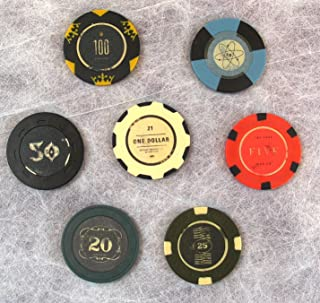FALLOUT New Vegas Collector's Edition Lucky 7 Poker Chips