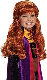 Disguise Disney Anna Frozen 2 Girls' Wig