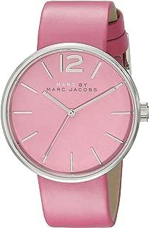Marc by Marc Jacobs Women's MBM1363 Analog Display Analog Quartz Pink Watch