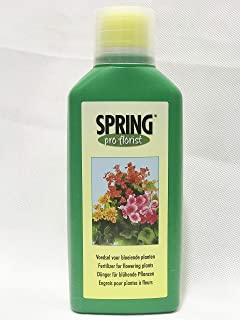 Spring® Liquid Flowering Plant Food 4-4-10 Soil Fertilizer (500 ml.) Made in Holland
