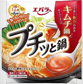 エバラ プチッと鍋 キムチ鍋 (23g×6個入)×6袋