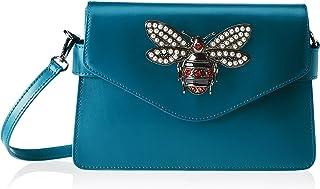 (Verde (Petrolio)) - Chicca Borse Women's 8801 Shoulder Bag