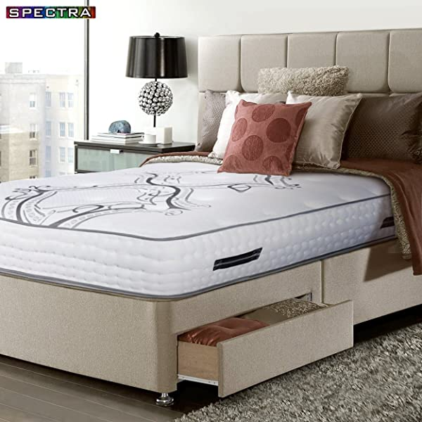 Spectra Orthopedic Double Sided 13 5 Firm Independent Pocket Coils Mattress