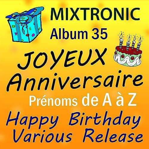 Amazone carte anniversaire musicale avec prenom