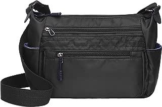RFID Anti Thief Ladies Crossbody Bag Nylon Lightweight Travel Shoulder Purses and Handbags Waterproof Pocketbooks
