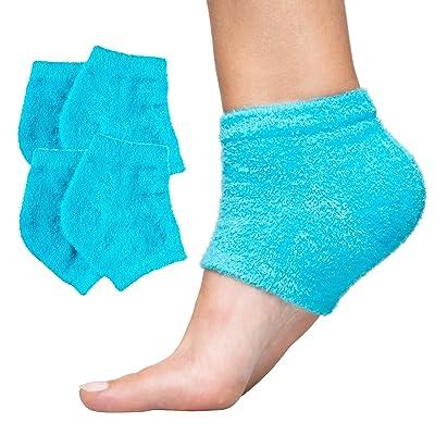 ZenToes Moisturizing Heel Socks 2 Pairs