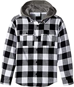 Columbia Kids - Boulder Ridge Flannel Hoodie (Little Kids/Big Kids)