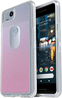 OtterBox SYMMETRY SERIES Case for Google Pixel 2 - Retail Packaging - HELLO OMBRE (SILVER FLAKE/CLEAR/HELLO OMBRE GRAPHIC)