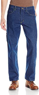 red kap loose fit dungarees workwear jeans