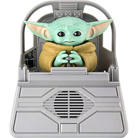 eKids Baby Yoda - Personaje de Sonido mandaloriano