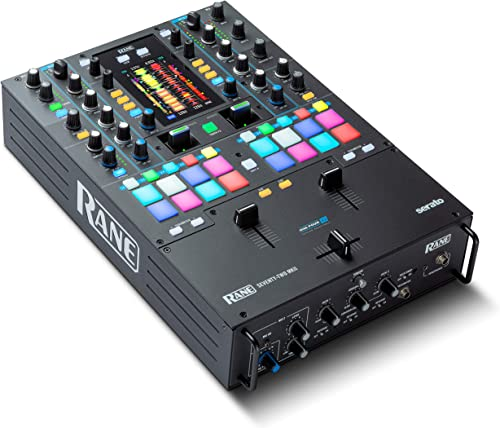 wholesale Rane DJ Seventy-Two MKII | discount Professional 2 Channel outlet sale Mixer for Serato DJ with Multi-Touch Screen, Dual DVS Inputs and Akai Pro MPC Performance Pads (SEVENTYTWOMKII) online sale