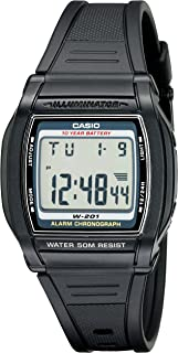 Casio Men's W201-1AV Chronograph Water Resistant Watch