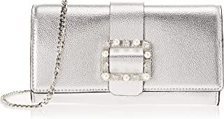 Guess Summer Night City, Damen Shopper, Silber (Silver/Sil), 22.5x12.5x3.5 cm (W x H L)