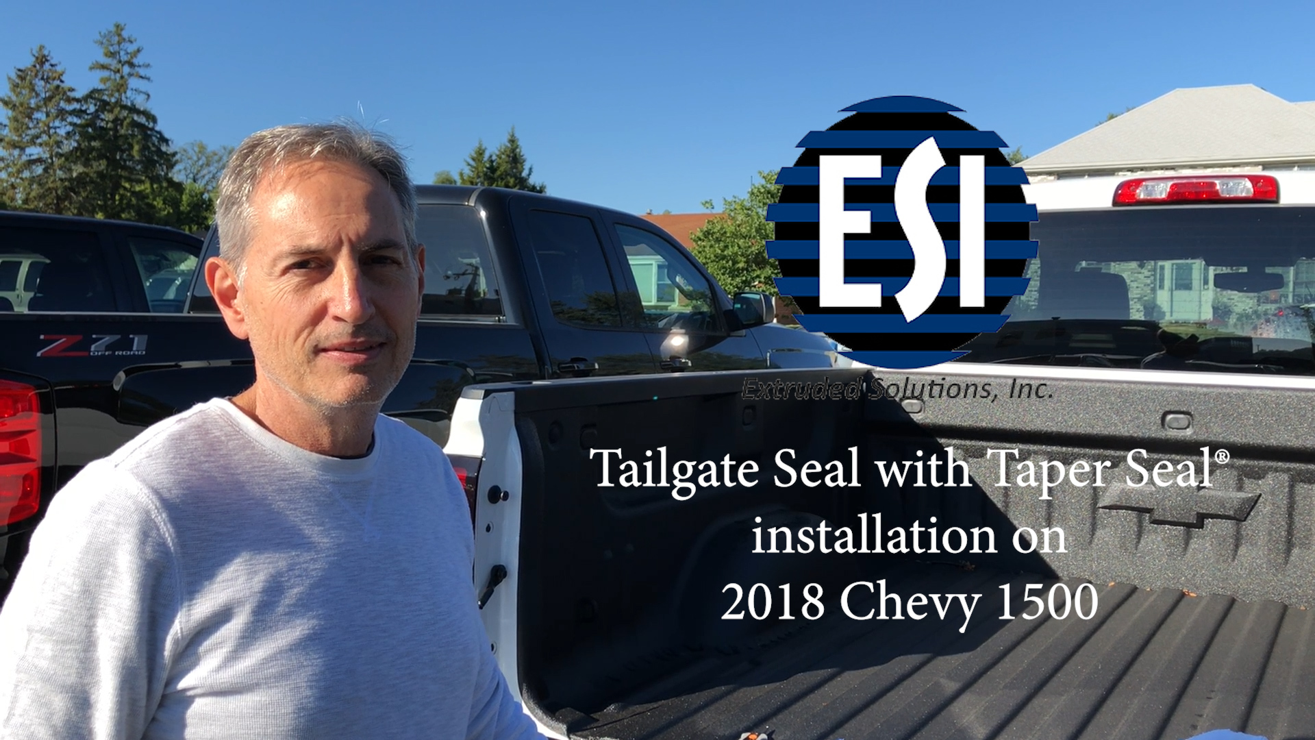 Rear Gate G3080 Fairchild Industries Tailgate Seal