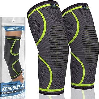 فشرده سازی زانویی آستین دار Modvel Athletics | 1 جفت FDA ثبت شده است | پشتیبانی از زانوی بند برای آرتروز ، ACL ، دویدن ، دوچرخه سواری ، ورزش های بسکتبال | تسکین درد مفاصل ، پارگی منیسک ، ترمیم سریع تر آسیب دیدگی