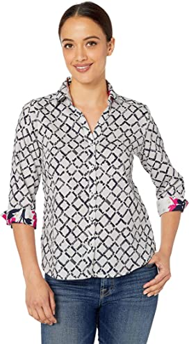 fff37de51c0ae7 Foxcroft Petite Taylor Pinpoint Non Iron at Zappos.com